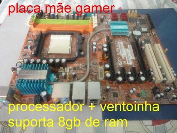Placa Mãe Gamer Kn9 Ddr2 Promoção