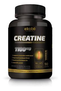1 Frasco Creatina - 180 Capsulas Em Gel 1100 Mg Ekobe