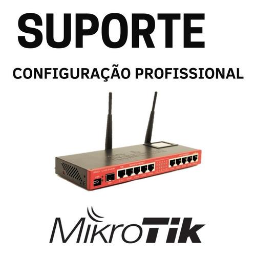 Imagem 1 de 7 de Mikrotik Instalação Geral Configuração Suporte Remoto