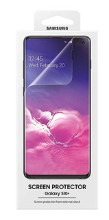 Protector De Pantalla Oficial Samsung Para S10 Y Plus 2 Pzas