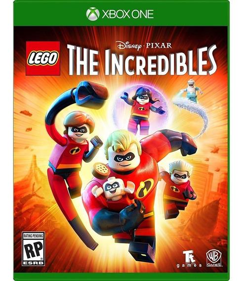Lego The Incredibles Xbox One Mídia Física Lacrado