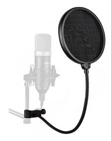 Pop Filter Studio Anti Puff Para Microfone Condensador