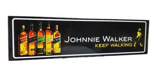 Johnnie Walker Whisky Cuadro Cartel Carretera Señalamiento