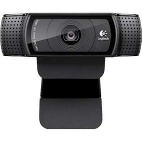 Webcam 15.0 Mp Preto C920 Full Hd 1080p Usb Logitech
