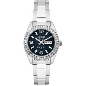 Relógio Orient Automático Feminino Aço Prata 559ss008 P2sx