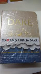 Bíblia De Estudo Dake - Champagne