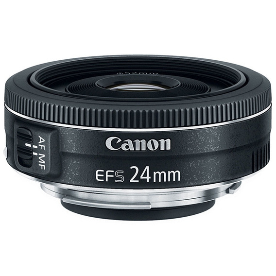 Lente Canon Ef-s 24mm F/2.8 Stm Grande Angular - Wide Angle