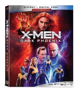 Blu Ray X Men Dark Phoenix Estreno Original Dc Marvel