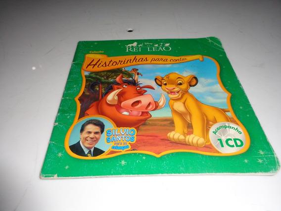 Livro O Rei Leao Silvio Santos Usado Sem Cd R.948