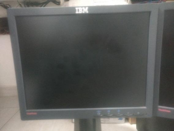 Monitor Ibm 15 Pol Com Torre Retrátil.