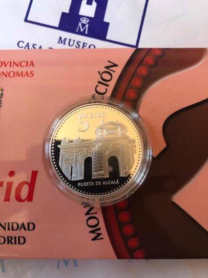 Moneda De Plata Proof De Madrid Colección Prov Españolas