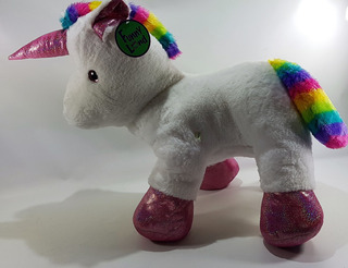 Peluche Unicornio 70 Cm Muñeco Calidad Anti Acaros Nena Ro