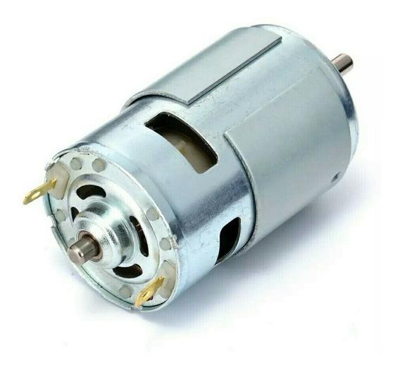 Motor Rs-775 Com Duplo Rolamento De Esferas 9.000rpm