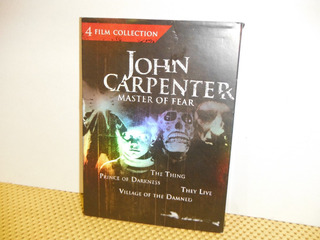 John Carpenter - Master Of Fear - 4 Films Collection - Dvd