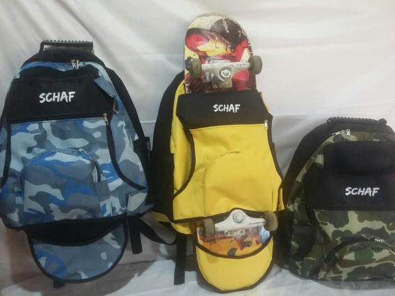 Mochilas Skatebags Schaf Preço Kit Com 5 Cores Para Revenda