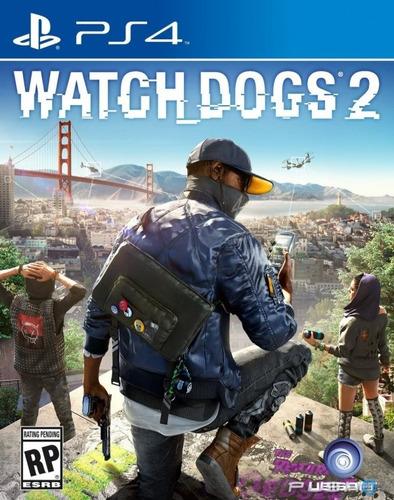 Ps4 Playstation 4 Español Original Watch Dogs 2