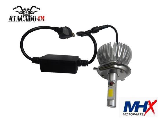 Lamp. Farol Biodo H4 12v 35/35 Led 2200l 6000k
