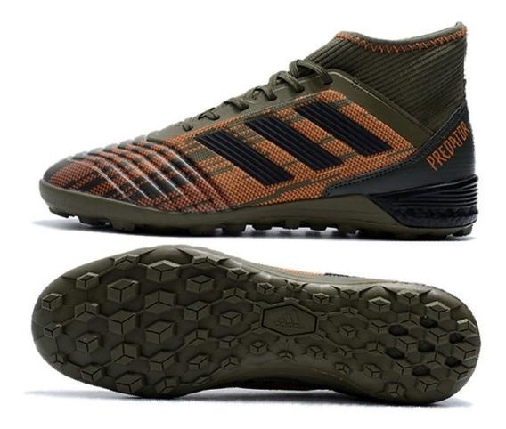 Zapatillas adidas Predator Grass Sintetico Militar