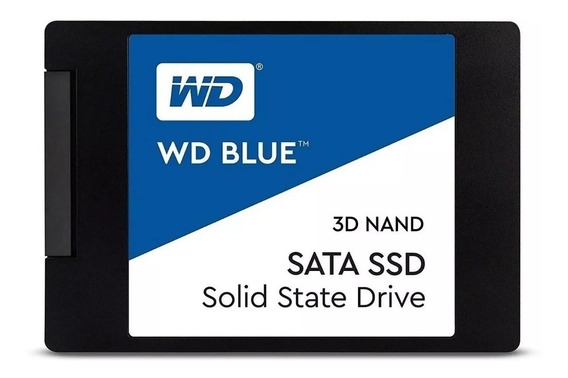 Ssd 500gb Blue Western Digital - Wds500g1b0a - Pronta Entreg