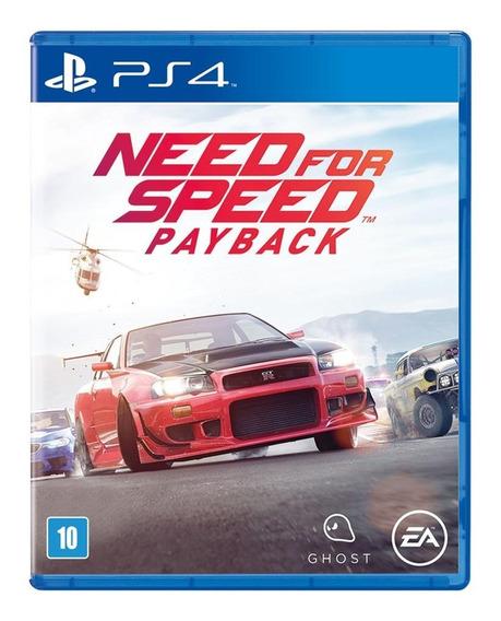 Jogo Need For Speed Payback Ps4 Mídia Física Português Br