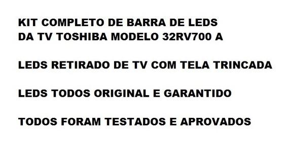 Kit Leds Tv Toshiba 32rv700a