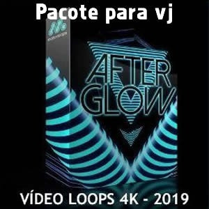 After Glow - Pacote De Videos Loops 4k Para Vj, Dj.