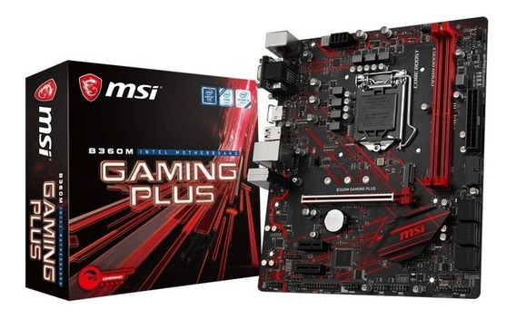 Placa Mae Ddr4 Msi B360m Gaming Plus Lga 1151