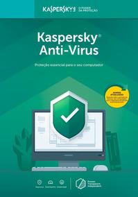 Anti Vírus Kaspersky 1 Usuário 1 Ano Pc Br Download