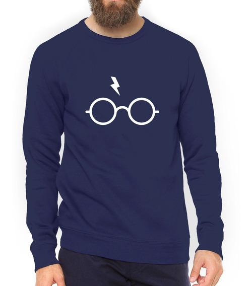 Blusa Harry Potter Óculos Moletom Casaco Alta Qualidade#gr13