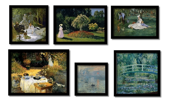 Claude Monet Quadros Mais Famosos Grandes Mestres