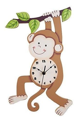 Campos De Fantasia Feliz Granja Reloj De Pared Para Niños So
