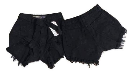 20 Shorts Jeans Feminina Cintura Alta Paniquete Levanta Bumb