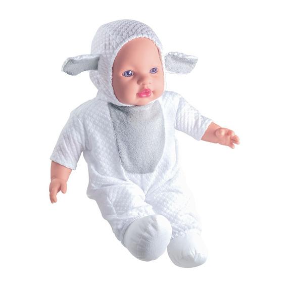 Boneca Baby Ovelhinha Coleção Baby Animals - Animais Milk Br