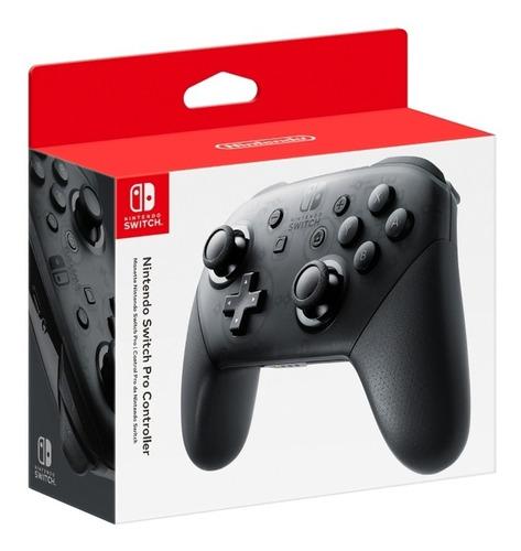 Imagen 1 de 6 de Pro Controller Black - Nintendo Switch