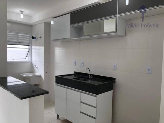 Apartamento 2 Dormitórios Para Locação, 50m², Residencial Platinum, Pq. Morumbi Em Votorantim/sp - Ap1085