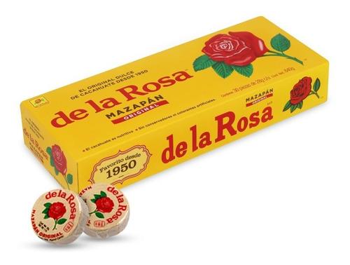 Imagen 1 de 1 de Mazapan Grande De La Rosa 30 Pz