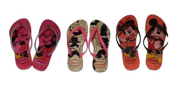 Chinelo Infantil Meninas Oncinha Slide Rosa Promoção