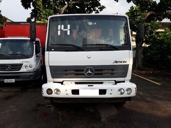 Mercedes-benz Atron 1719 Bau Bebida 2014