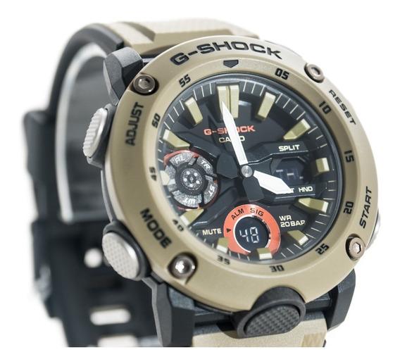 Relógio G-shock Ga 2000 5adr Bege Original Garantia Lançamen