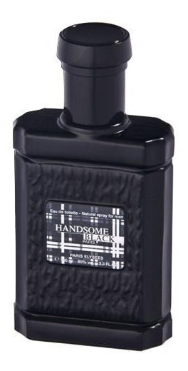 Handsome Black Paris Elysees De 100 Ml - Perfume Masculino