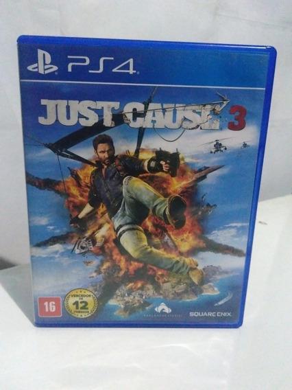 Jogo Just Cause 3 Ps4 Mídia Fisica R$79,90
