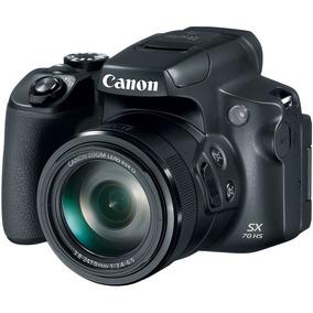 Câmera Canon Powershot Sx70 Hs 20.3mp 4k 65x Zoom
