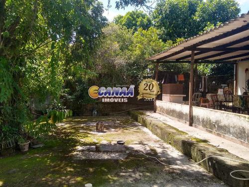 Imagem 1 de 10 de Chácara Com 2 Dorms, Vila São José, Mongaguá - R$ 200 Mil, Cod: 8305 - V8305