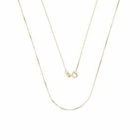 Corrente Ouro 18k Veneziana 45cm