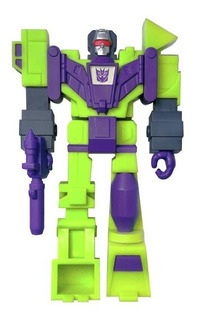 Super 7 Reaction Transformers Devastator