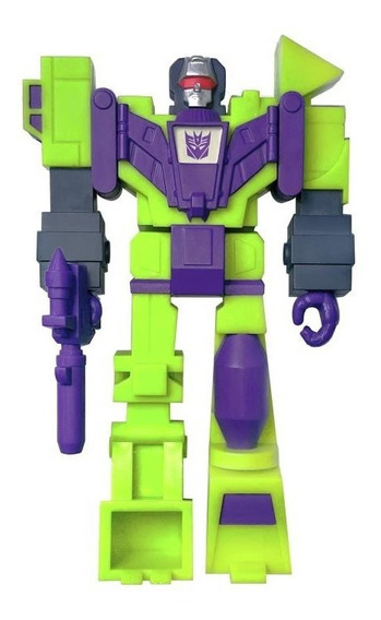 Super 7 Reaction Transformers Devastator