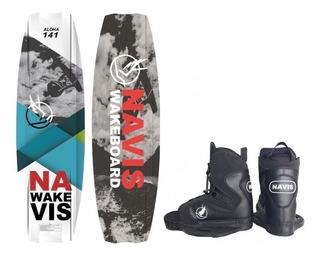 Prancha Wakeboard Navis Aloha 141+ Bota Para Wake 095 Surf