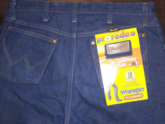 Wrangler Jean U.s.a. Original Cut 13 Mwz Rigid Cow Boy