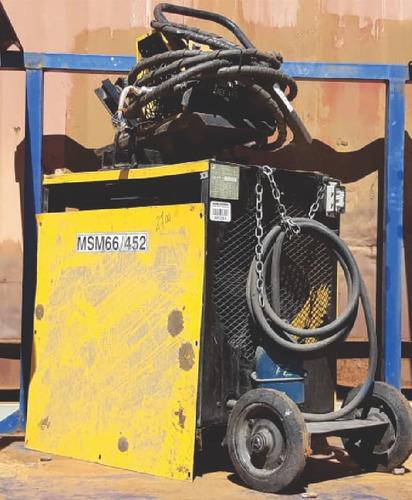 Maquina De Solda Mig Esab - Lab 475 - 2700