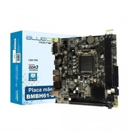 Placa Mãe Bluecase Bmbh61 Intel Lga 1155 Chipset H61